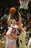 Bozeman's Lincoln Powers scores past Brady Gustafson