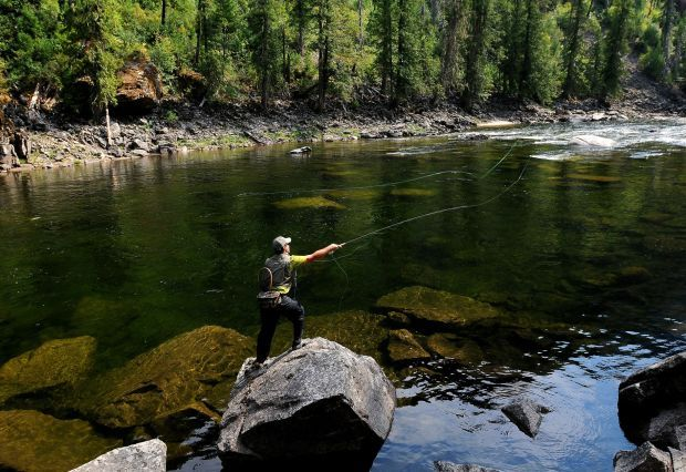 Two day beginning fly fishing class offered this weekend for Beginning fly fishing