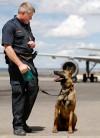 K-9 handler Sgt. Jim Nyquist