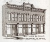 Butler and Culp building in Buffalo, Wyo.