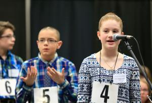 Seventh-grader Anna Belle Locke