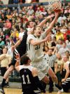 Rocky men rout Westminster to win 2nd straight Frontier tourney title, 93-64