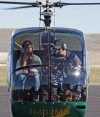 Kylee Weidinger's helicopter ride