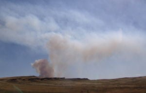Fires continue to burn near Billings