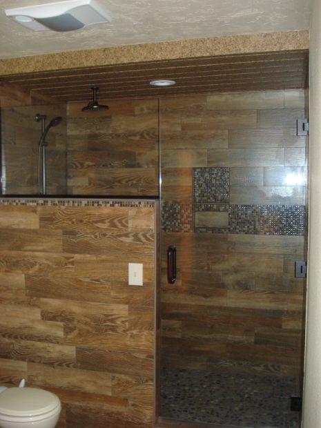 HMF5-11-14 wood look shower - HMF5-11-14 Wood Look Shower Home And Garden Billingsgazette.com
