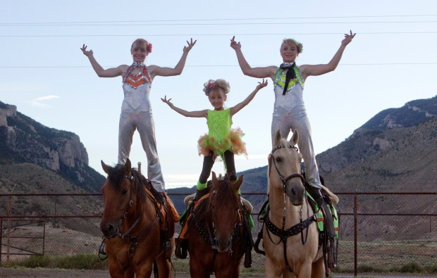 Kid Trick Riders Are A Treat For Cody Rodeo Crowd