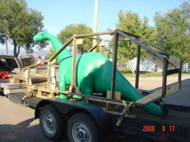 Truck Stop Dinosaur