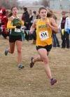 MSUB's Renae Hepfner finishes