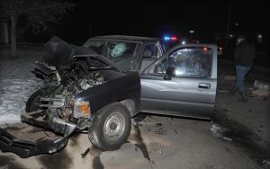 3 injured when pickup crashes into parked car on Colton early Saturday