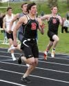 Bozeman's Wyatt David win the 100