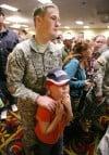 John Sharkey of Butte leaves the deployment ceremony