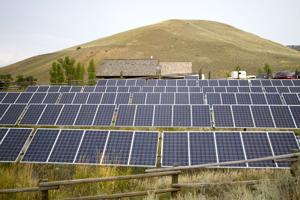 Clouds part for commercial solar in Wyoming, top coal state