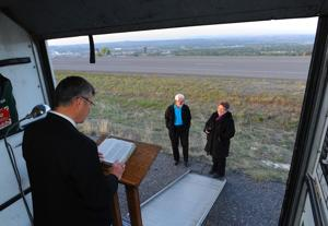 Feature photos and video: Day of prayer atop the Rims