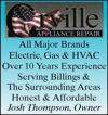 Orville Appliance Repair, Heating and Cooling