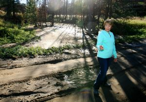 A year after fire, floods test rural Roundup residents