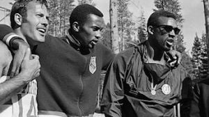 Born to run: Livingston native, once the world's fastest man, has had front-row seat to history