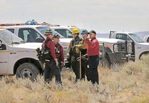 Body found near site of wildfire outside Laurel; blaze 100% contained