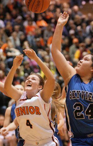 Senior Skyview girls basketball