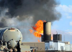 Lightning a threat to ND saltwater disposal sites