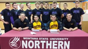 Weber brothers hoping to light it up for MSU Northern wrestling team