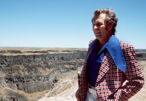 Evel Knievel's Snake River Canyon jump