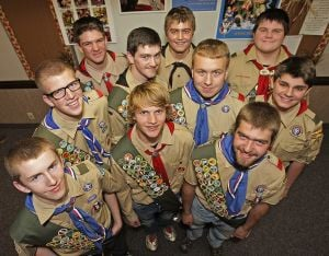 Troop 18 Eagle Scouts