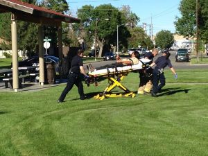 Man with gunshot wound transported from South Park to hospital