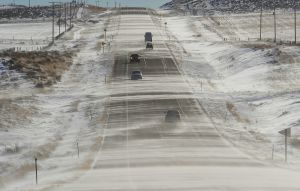 Snow returns to Wyoming