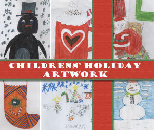 Childrens' holiday artwork
