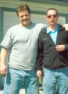"Cousins Rick Beckerley and Frank ""Trey"" Greene"