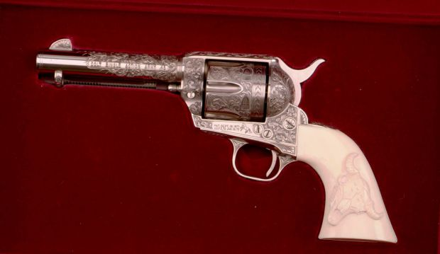 Buffalo Bill museum acquires Lone Ranger's pistol