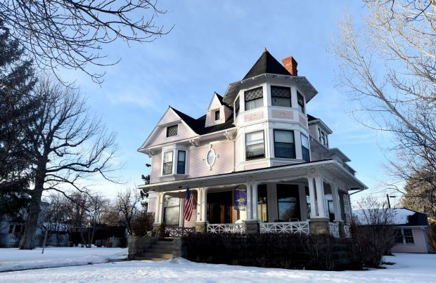 The I.D. O'Donnell house remains mostly the same for more than 100 years