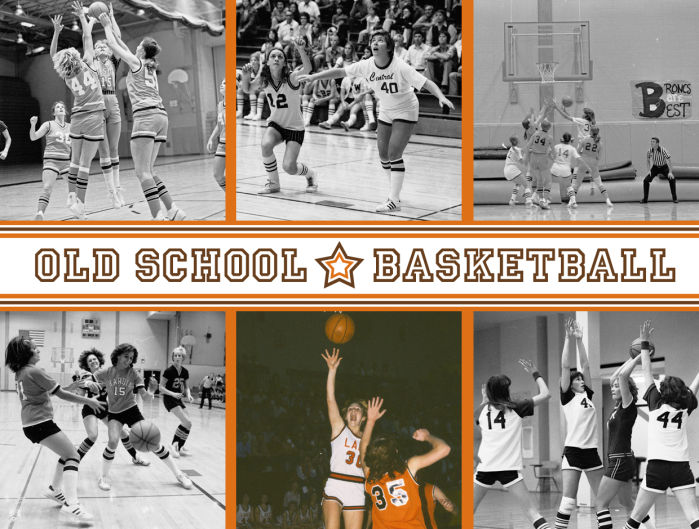old school girls basketball gazprepsports high school sports. Black Bedroom Furniture Sets. Home Design Ideas