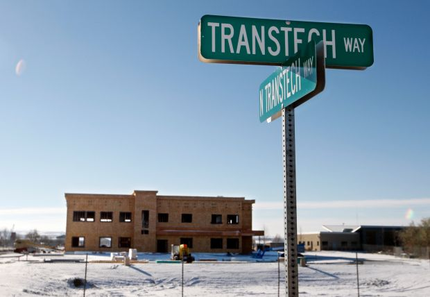 2 Buildings Under Construction At Transtech Center On West