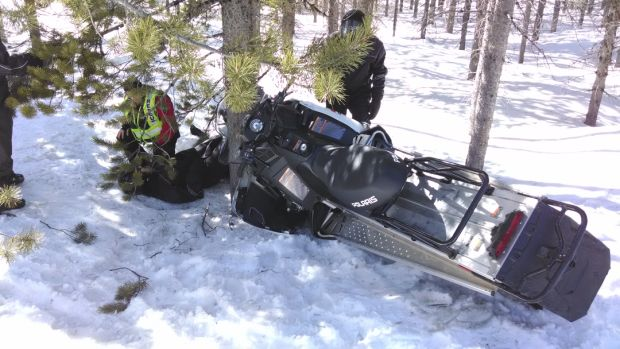Snowmobile crash, injury 5th this month near West Yellowstone