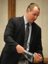 Billings police detective Riley Finnegan shows inquest jurors