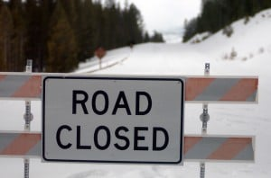 Avalanche danger high, Sylvan Pass remains closed