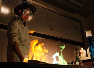 'This is how witches and wizards cook': Kids learn better living through Halloween chemistry