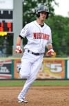The Mustangs's Benedetto sprints to third