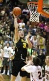Jared Samuelson of West scores
