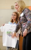 Kids' Run T-shirt features artwork by Broadwater Elementary fifth-grader