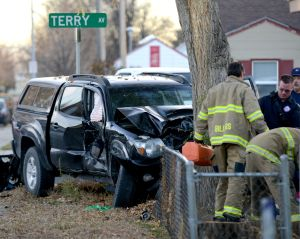 Pedestrian and dog seriously injured in Terry Avenue crash