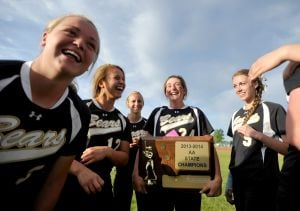 State AA softball tournament day 2