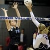 Skyview volleyball players battle Butte