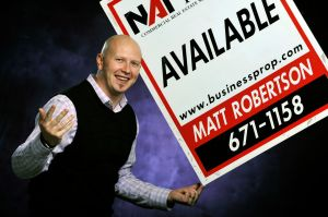 Matt Robertson, principal, supervising broker, NAI Business Properties
