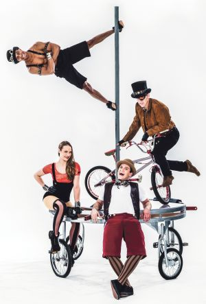 'Pedal Punk' wheels into ABT on Oct. 14