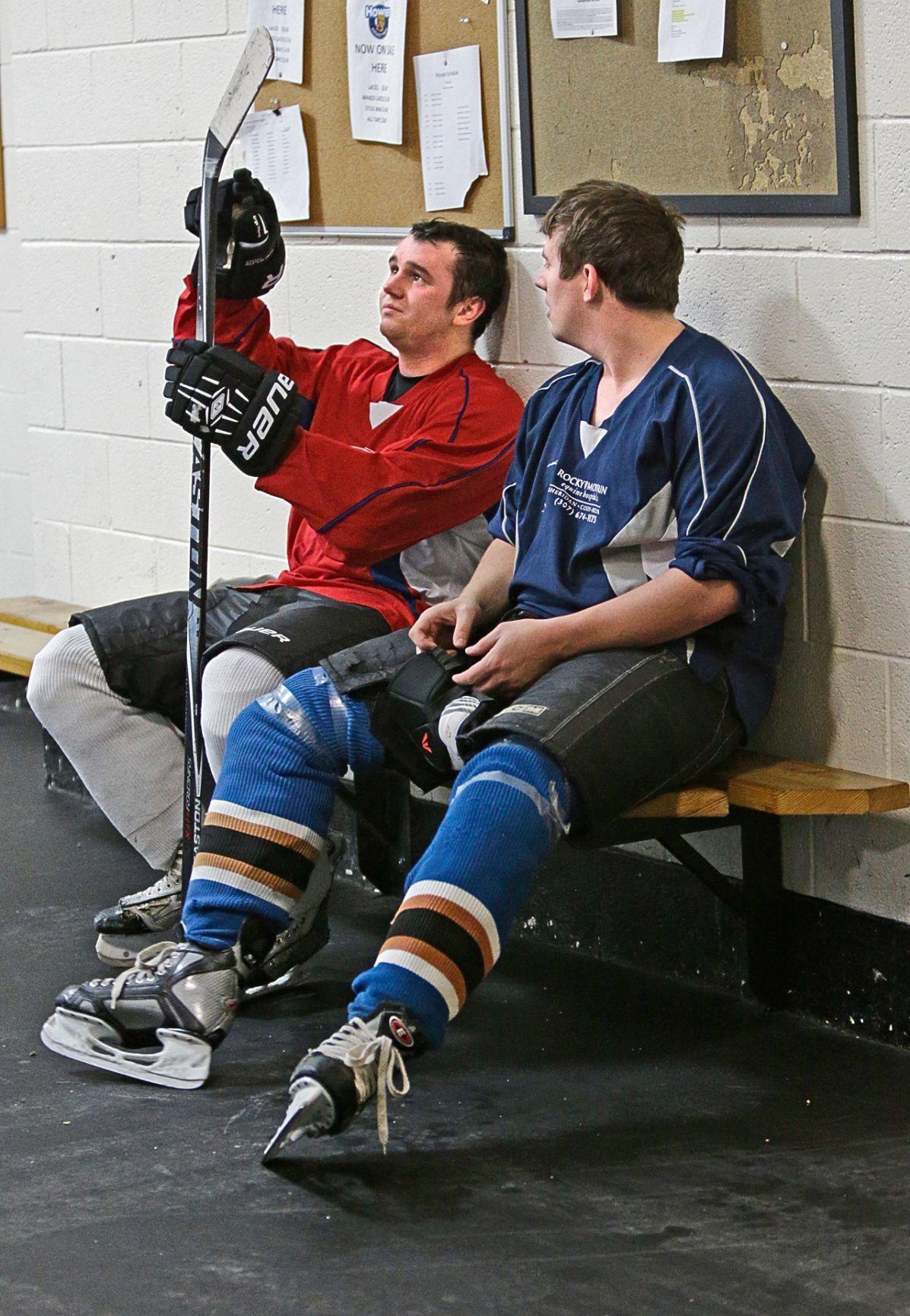 Adult hockey skill level