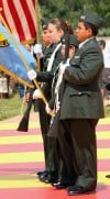 The Lodge Grass Color Guard
