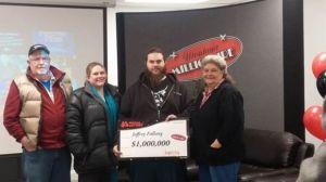 Montana's $1 million lottery winner sued for half of take