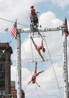 Circus Una acrobats